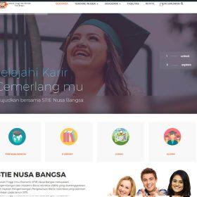 Website Kampus STIE Nusa Bangsa