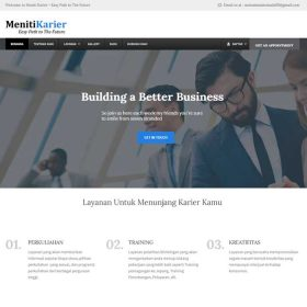 Website Meniti karier